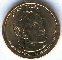 U.S.A. 1 Dolar John Tyler 2009 P @ PRESIDENTE Nº 10 @