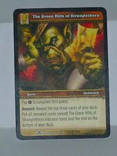 GREEN HILLS of STRANGLETHORN - Warcraft TCG - ARTISTS PROOF - Dark Portal  YOUNG