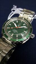 Vostok Amphibia Neptune Green Limited Edition 622/900 Russian Auto Divers Watch