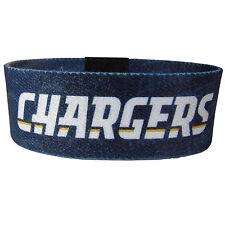 NEW! San Diego Chargers Stretch Blue Bracelet NFL Wristband Power Band
