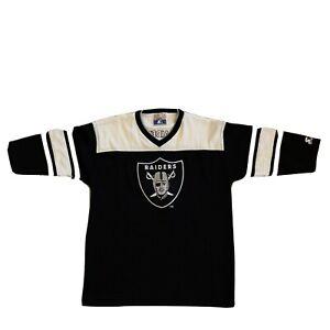 Vintage NFL Oakland Raiders Starter Large Sweater