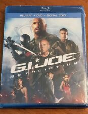 G.I. Joe: Retaliation (Blu-ray/DVD, 2013, 2-Disc Set) New and Sealed