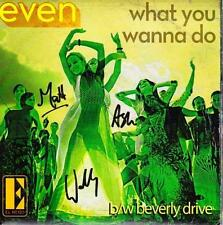 EVEN (OZ  45 '11)  WHAT YOU WANNA DO - AUTOGRAPHED - CARD - EL RENO
