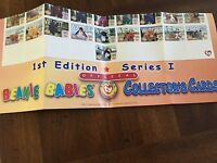 Ty Beanie Babies Series I S1 Collector **POSTER Shows All Cards For Complete Set