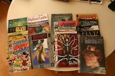 10 COMIC BOOKS. WHOLESALE JOB LOT, GENERALLY HIGHER VALUE & SCARCE. NM