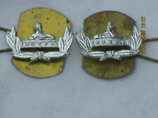 Gloucestershire Regiment, Anodised Aluminium Staybright, Collar Badges