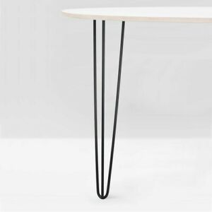 "4x Hairpin Legs Furniture Table Bench Desk Pin 4'' 8"" 10""12"" 14"" 16""28"" 34''"