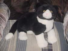 """14"""" Josie And The Pussycats Plush Black And White Cat"""