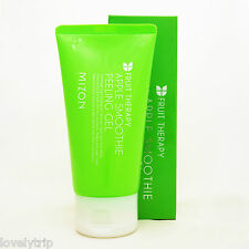 MIZON Apple Smoothie Peeling Gel 120ml Exfoliation Brightening Pores Moisture