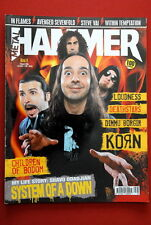 System Of A Down On Unique Metal Hammer Cover Magazine