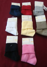 """INFANT/TODDLER GIRLS """"OLD NAVY""""  TURN CUFF STYLE SOCK   SIZES VARY  NWT"""