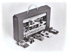 Matchbox Pressefoto USA 1-75 Matchbox Carry Case Giftset 1972