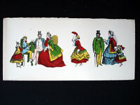 Vintage Imagerie Pellerin d'Epinal Domestic French Life Greeting Cards InvII
