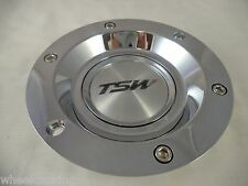 TSW Wheels Chrome Custom Wheel Center Caps # PCE86A-C (1 CAP)