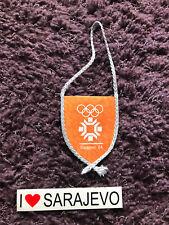 Banderín Olympia olimpiada sarajevo 1984 vucko yugoslavia bosnia sfrj Tito