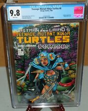 Teenage Mutant Ninja Turtles #8 CGC 9.8 Mirage Studios 💀 Cerebus App. 1986