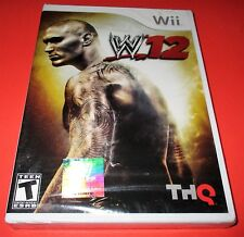 WWE '12 Nintendo Wii *Factory Sealed! *Free Shipping!