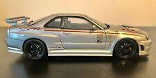 1/18 Autoart NISSAN SKYLINE GT-R R34 Z-tune 2001 silver 80180