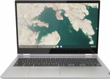 "Lenovo C340-15 2-in-1 15.6"" Touch-Screen Chromebook Intel Pentium Gold 4GB 64GB"