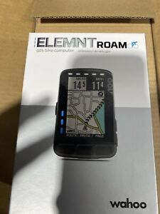 Wahoo WFCC4 ELEMNT Roam GPS Bike Computer  User Friendly Smart Navigation