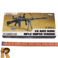 MK11 Camo Sniper Rifle Set - 1/6 Scale - Toys City Action Figures - NEW in Box
