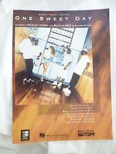 Vtg 1995 One Sweet Day Mariah Carey Boyz II Men Sheet Music Piano Vocal Guitar