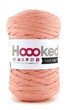 Hoooked ribbonxl 120M punto tejer hilado de de Algodón Crochet-Helado Albaricoque