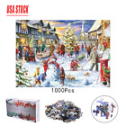 1000 Piece Jigsaw Puzzle ?Christmas Snowy Home Large Jigsaw Puzzle Game Toys