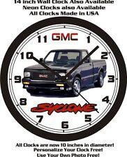 GMC SYCLONE PICKUP TRUCK WALL CLOCK-FREE USA SHIP!1