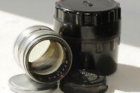 Portrait lens Jupiter-3 1.5/50 M39 soviet lens Yupiter-3  USSR lens Sonnar Leica