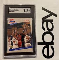 Michael Jordan SGC 7.5 Upper Deck LAST DANCE Chicago Bulls Man Cave INVEST 1993