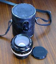 Nikon 55mm 1:1 .2 standard obiettivo Lens Nikkor