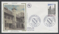 FRANCE FDC - 2011 1 TROYES - 13 Mai 1978 - LUXE sur soie