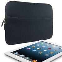 """Black Slim Protective Neoprene Sleeve Case Cover for 8""""- 9.7"""" Tablet PC"""