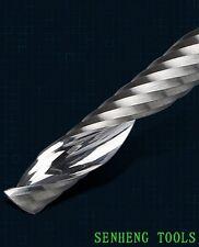 Lot 5pcs 3.175x3.175x17mm one/single flute CNC router bits AAA acrylic PVC WOOD