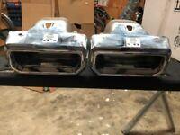 2019-2021 Chevy Silverado / GMC Sierra 1500 Exhaust Bezels Right & Left