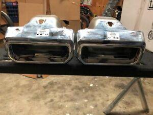 2019-2020 Chevy Silverado / GMC Sierra 1500 Exhaust Bezels Right & Left