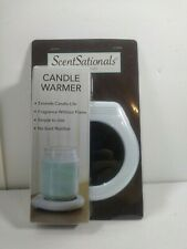 ScentSationals Candle Warmer Plate Flameless Candle Burner
