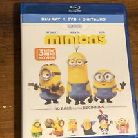 Minions (Blu-ray Disc, 2015, 2-Disc Set) No Digital Copy