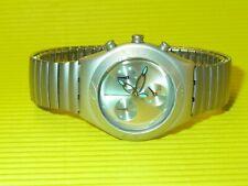 Swatch Midi Irony Chrono ARCTIC DREAM mit Flexarmband in NEU & OVP
