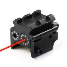 Tactical Mini Pistol Red Laser Sight Scope Fit 20mm Weaver/Picatinny Rail Mount