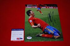 DAVID VILLA fc barcelona spain world cup signed PSA/DNA 8X10 new york city fc 4