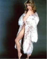 Pia Zadora Leggy in Fur 8x10 photo T2189