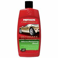 Mothers California Gold Micro-Polishing Glaze Ultimate Wax System Step 2
