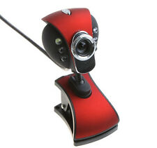 USB / 3.5mm 50.0M 6 LED HD Webcam Camera Web Cam with MIC for Computer PC Laptop