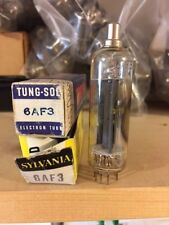 Sylvania/TungSol 6AF3 Electronic (Vacuum) Tube (NOS) Original Box (2 in package)