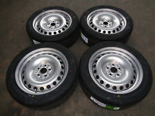 "8""x18"" JBW PEPPERPOT  SILVER STEEL WHEELS+TYRES TO SUIT VW T6 SET OF 4"