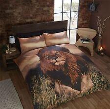 SOLEIL AFRICAIN PLAINS LION MARRON SIMPLE