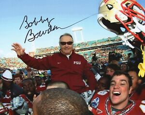 Bobby Bowden - NCAA Football Head Coach - Signed 8x10 Photograph