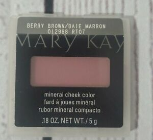 Mary Kay Mineral Cheek Color BERRY BROWN BRAND NEW RARE Discontinued